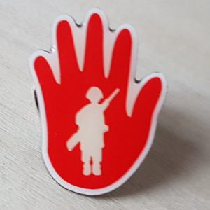 Pin zur Aktion Rote Hand