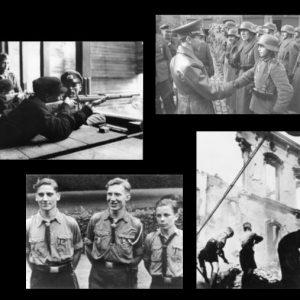 4 A3-Poster: Kindersoldaten im 2. Weltkrieg