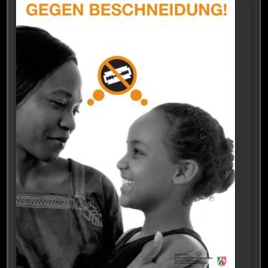 """Plakat """"Mädchen schützen gegen Beschneidung"""" – A2"""