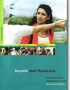 """DVD """"Respekt statt Rassismus – Vorurteile überwinden. Diskriminierung vermeiden. Menschenrechte fördern"""""""